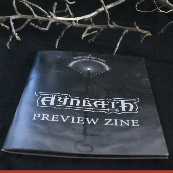 Photo of the Cover of the Aynbath Art Zine