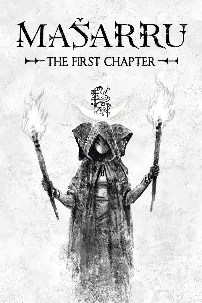 cover of dark fantasy web comic masarru chapter 1
