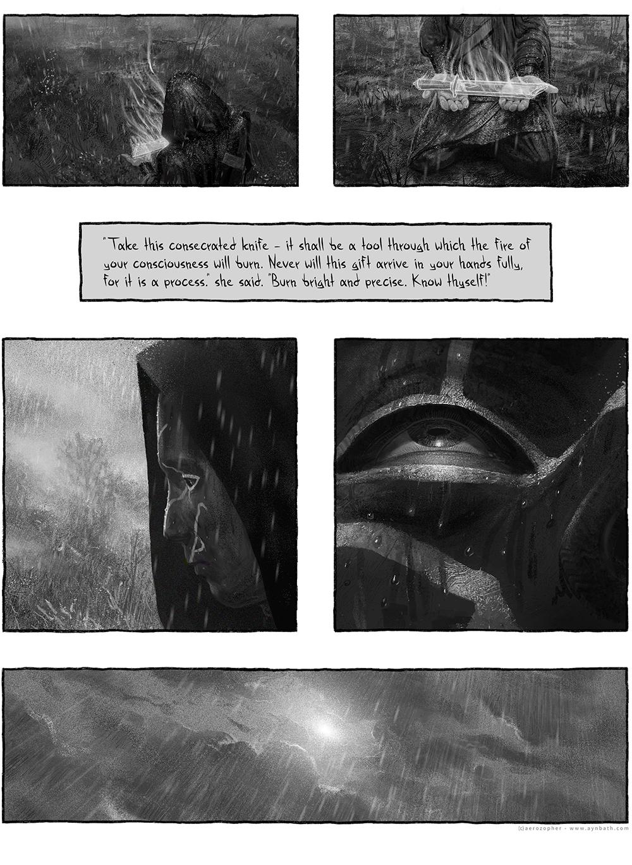 rain sequence webcomic part 3