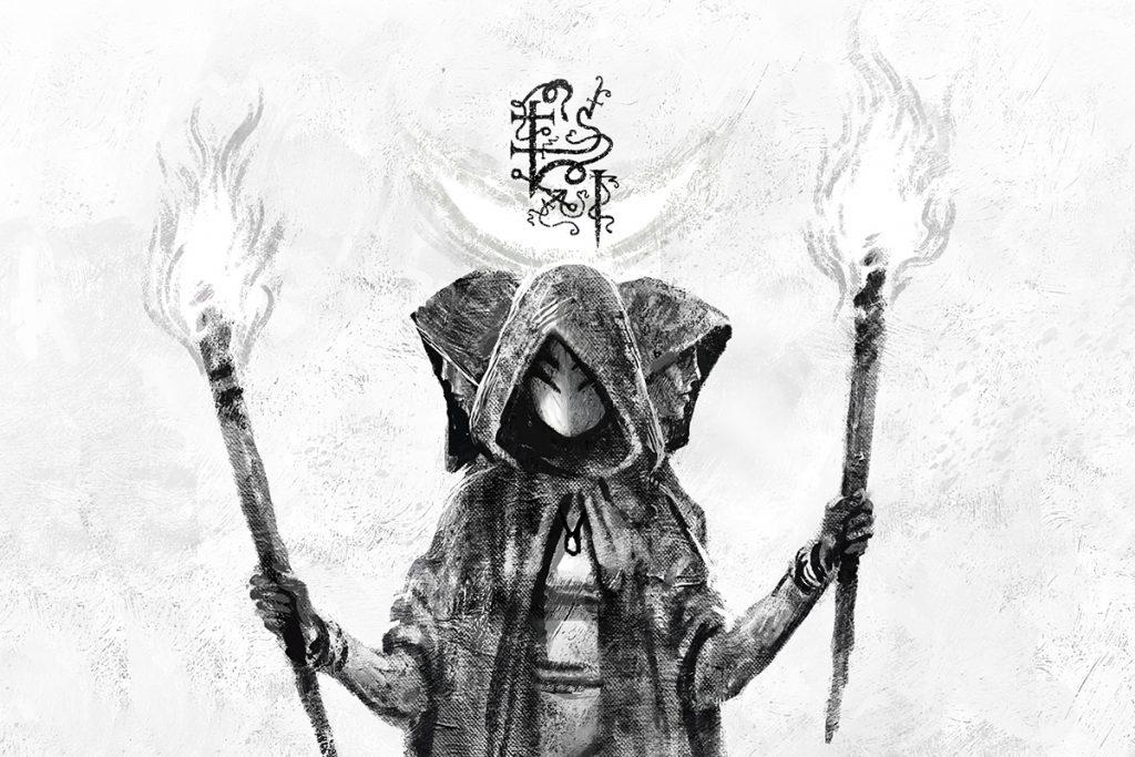 dark fantasy webcomic masarru about gods and demons