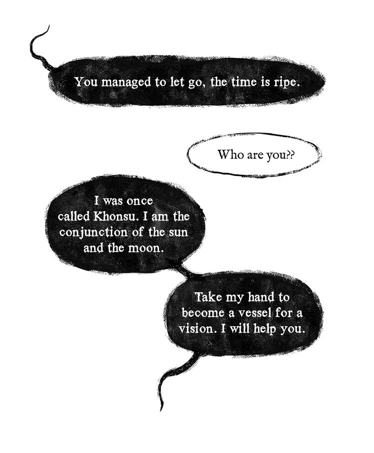 dialogue between khonsu and masarru